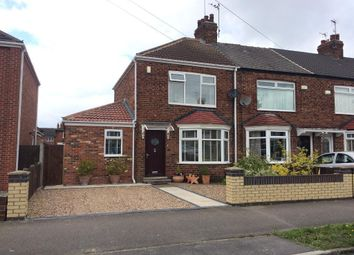Thumbnail 2 bedroom end terrace house for sale in Lomond Road, Spring Bank West, Hull