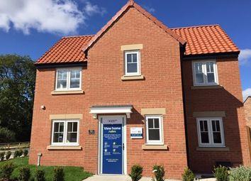 "Thumbnail 3 bedroom property for sale in ""Windsor"" at Langton Road, Norton, Malton"