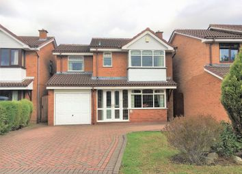 Thumbnail 4 bed detached house for sale in Lochalsh Grove, Coppice Farm, Willenhall