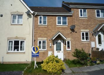 Thumbnail 2 bedroom terraced house for sale in Llwyn Y Gog, Rhoose, Barry