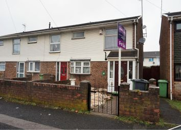 Thumbnail 3 bed end terrace house for sale in Johnson Road, Wednesbury