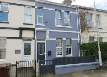 Thumbnail 2 bed terraced house for sale in Trelawney Avenue, Plymouth