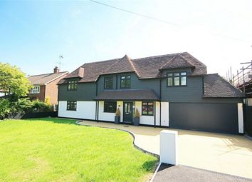 Thumbnail 5 bedroom detached house for sale in Pishiobury Drive, Sawbridgeworth, Hertfordshire