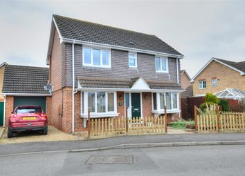 Thumbnail 3 bed detached house for sale in Bristow Road, Cranwell Village, Sleaford
