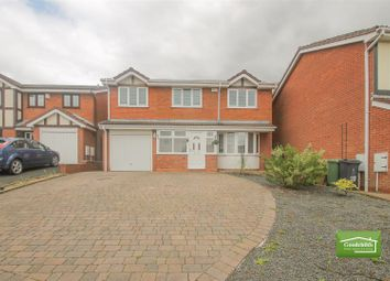 Thumbnail 5 bedroom detached house to rent in Swallowdale, Walsall Wood, Walsall