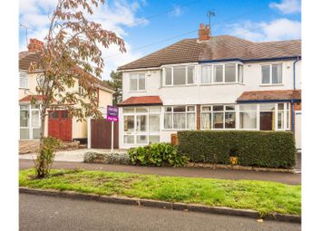 Thumbnail 3 bed semi-detached house for sale in Weymoor Road, Birmingham