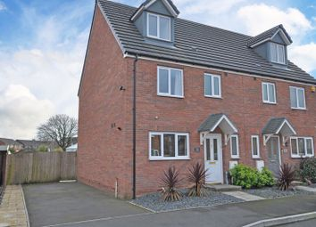 Thumbnail 4 bedroom semi-detached house for sale in Extended Modern House, Cefn Adda Close, Newport