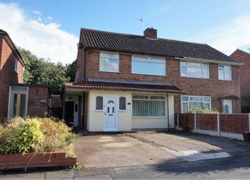 Thumbnail 4 bed semi-detached house for sale in Kent Road, Wednesbury