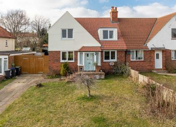 Thumbnail 4 bed semi-detached house for sale in Firs Road, Woolage Village, Canterbury