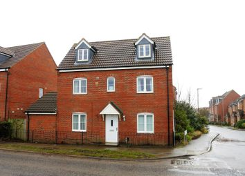 Thumbnail 4 bed detached house for sale in Barrowby Road, Grantham