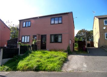 Thumbnail 2 bed semi-detached house to rent in Dale View, Stretton, Alfreton