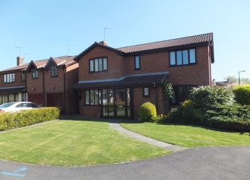 Thumbnail 4 bed detached house to rent in Oaklands Close, Hill Ridware, Rugeley
