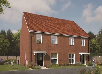 Thumbnail 3 bedroom end terrace house for sale in Redlands Park, Brandon Road, Swaffham