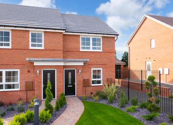 "Thumbnail 2 bedroom end terrace house for sale in ""Kenley"" at Black Scotch Lane, Mansfield"