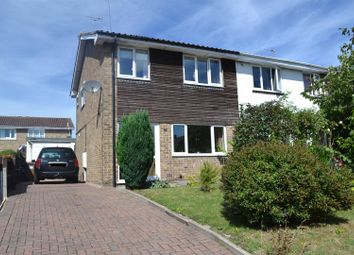 Thumbnail 3 bedroom semi-detached house for sale in Wellwood Road, Newhall, Swadlincote