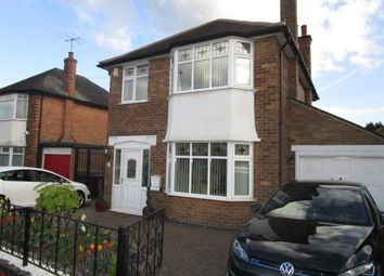 Thumbnail 3 bed detached house for sale in Brendon Drive, Wollaton, Nottingham