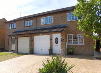 Thumbnail 3 bedroom semi-detached house for sale in Bittern Way, March