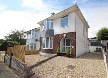 Thumbnail 3 bedroom semi-detached house for sale in Chesterfield Road, Plymouth