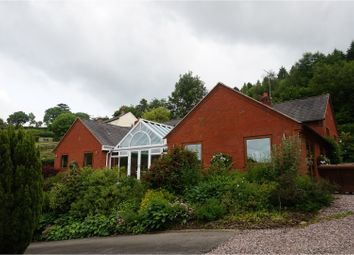 Thumbnail 4 bed detached bungalow for sale in Leighton, Welshpool