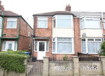 Thumbnail 3 bed end terrace house for sale in Keswick Gardens, Hull