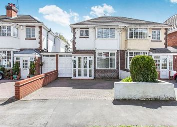 Thumbnail 3 bed semi-detached house for sale in Smirrells Road, Hall Green, Birmingham