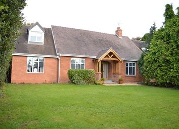 Thumbnail 4 bed detached bungalow for sale in Crickmerry, Market Drayton