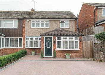Thumbnail 3 bed semi-detached house for sale in Saxon Close, Northfleet, Gravesend