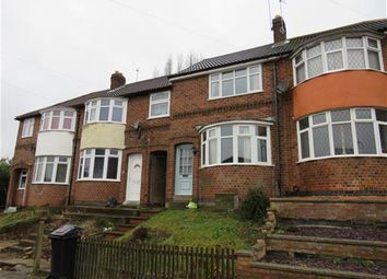 Thumbnail 3 bed town house for sale in Wiltshire Road, Stadium Estate, Leicester
