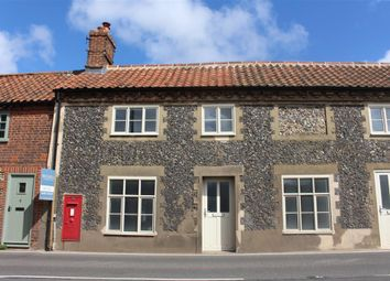 Thumbnail 2 bedroom terraced house to rent in Holt Road, Letheringsett, Holt, Norfolk
