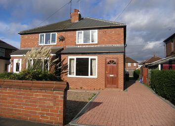 Thumbnail 2 bed semi-detached house to rent in Marlborough Avenue, Sprotbrough, Doncaster