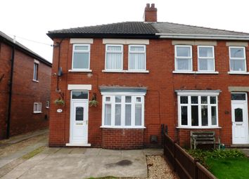 Thumbnail 3 bed semi-detached house to rent in Roxby Road, Winterton, Scunthorpe