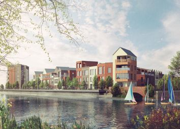 Thumbnail 3 bedroom town house for sale in Dockside Mews, Nottingham