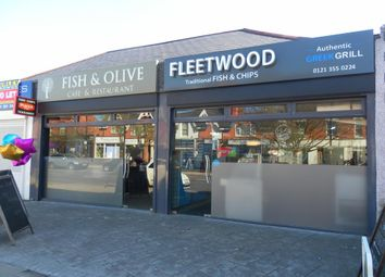 Thumbnail Restaurant/cafe for sale in 51/53 Boldmere Road, Boldmere, Sutton Coldfield