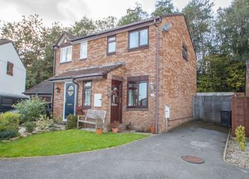 Thumbnail 2 bed semi-detached house for sale in Bowers Park Drive, Woolwell, Plymouth