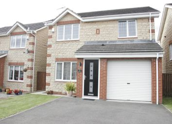 Thumbnail 3 bed detached house for sale in Epsom Drive, Ashington, Northumberland