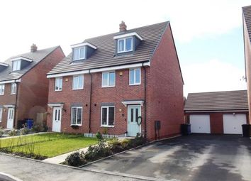 Thumbnail 3 bed semi-detached house for sale in Ruston Road, Chase Terrace, Burntwood