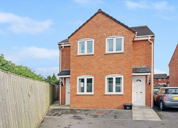 Thumbnail 1 bedroom semi-detached house for sale in Phipps Close, Westbury
