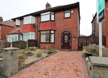 Thumbnail 3 bed semi-detached house for sale in Crescent Road, Chadderton, Oldham