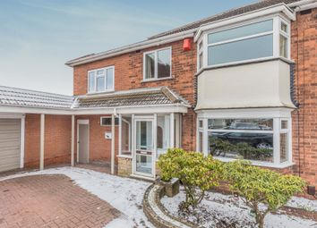 Thumbnail 4 bedroom semi-detached house for sale in Wheatcroft Close, Hurst Green, Halesowen