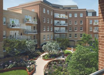 Thumbnail 1 bedroom flat for sale in Courtyard Gardens, Oxted, Surrey