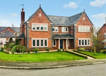 Thumbnail 5 bed detached house to rent in High Warren Close, Appleton, Warrington