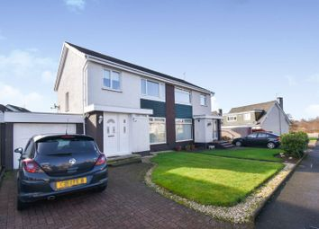 Thumbnail 3 bed semi-detached house for sale in Ben Lui Drive, Paisley