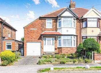 Thumbnail 4 bed semi-detached house for sale in Clarence Road, Grappenhall, Warrington, Cheshire