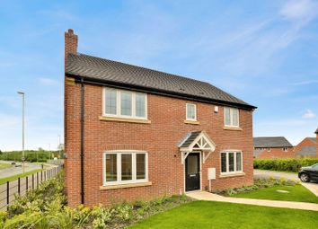 Thumbnail 4 bed detached house to rent in Poppy Road, Lutterworth, Leicester