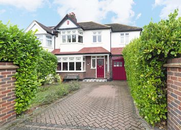 Thumbnail 5 bed semi-detached house for sale in Leamington Avenue, Morden