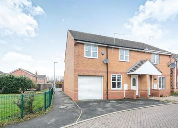 Thumbnail 3 bedroom semi-detached house for sale in Stoops Close, Chesterfield, Derbyshire