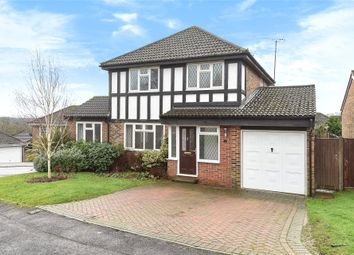 Thumbnail 4 bedroom detached house for sale in Melksham Close, Lower Earley, Reading, Berkshire