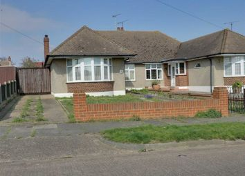 Thumbnail 2 bedroom semi-detached bungalow for sale in Ashurst Avenue, Southend On Sea, Essex