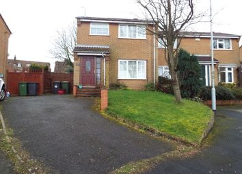 Thumbnail 3 bed semi-detached house to rent in Rouen Way, Ashby