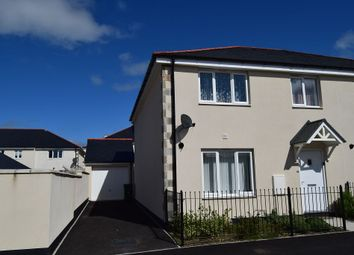 Thumbnail 4 bed semi-detached house to rent in 86 Penwethers Crescent, Truro